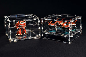 miniature display cases and covers