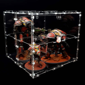 acrylic display case for miniatures