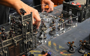 tabletop miniature gaming display cases