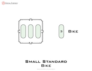 Diagram of Small Standard Bike - small image