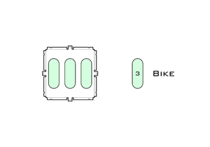 Diagram of Small Standard Bike