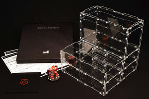 Crystal Fortress 3/4 Cube Acrylic Display Case Bundle