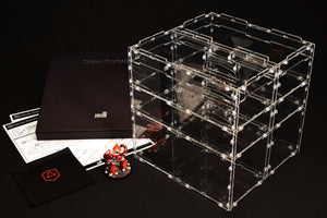 Crystal Fortress Humpback Cube Bundle Acrylic Display Case for Miniatures Collections