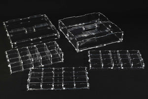 Crystal Fortress Humpback Fortress Bundle Large Acrylic Display Case for Miniatures or Models