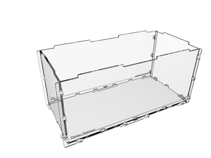 Acrylic display case for up to 35 miniatures - small image