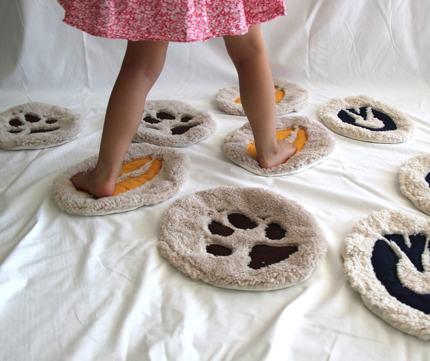 Footprint Stepping Mat