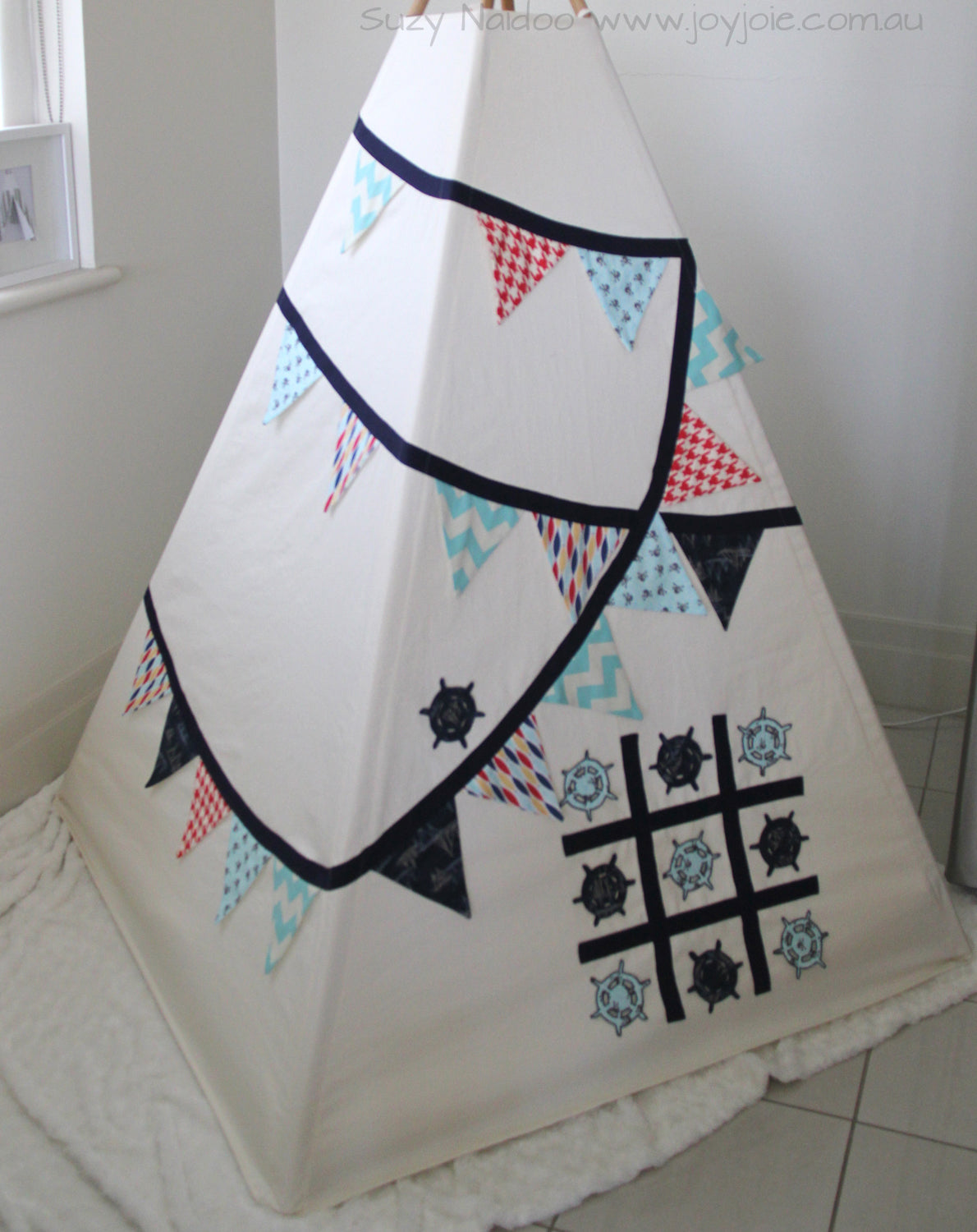 Pirate Inspired tepee