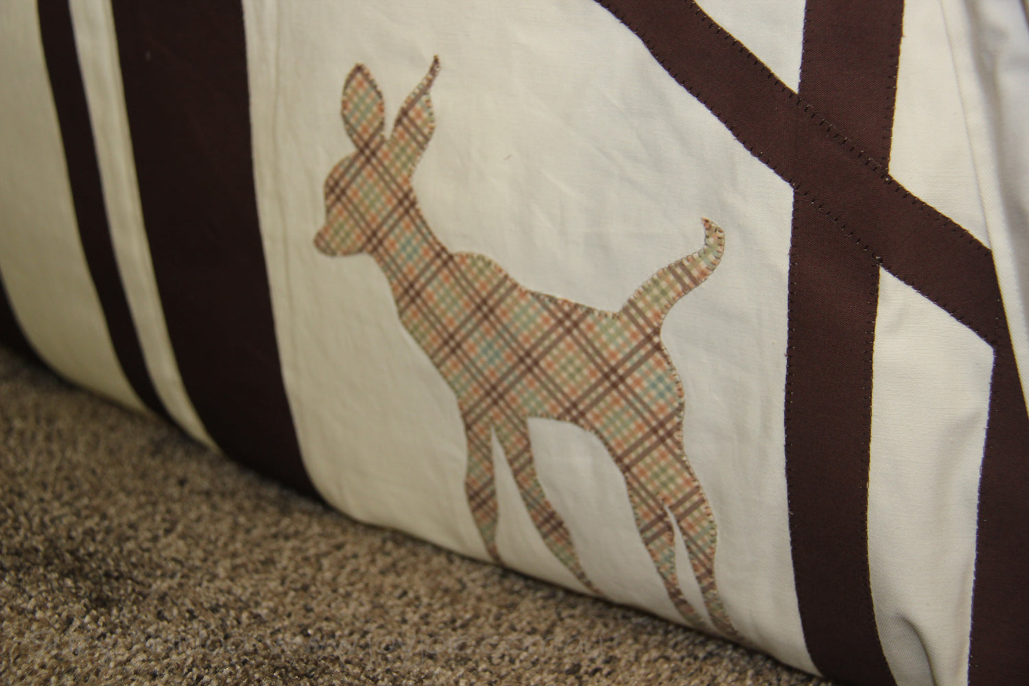 Deer in a teepee