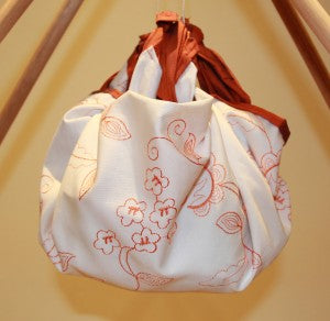 Furoshiki Orange Bag
