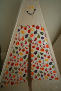 Teepee fruit fabric