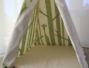 Green Forest Teepee