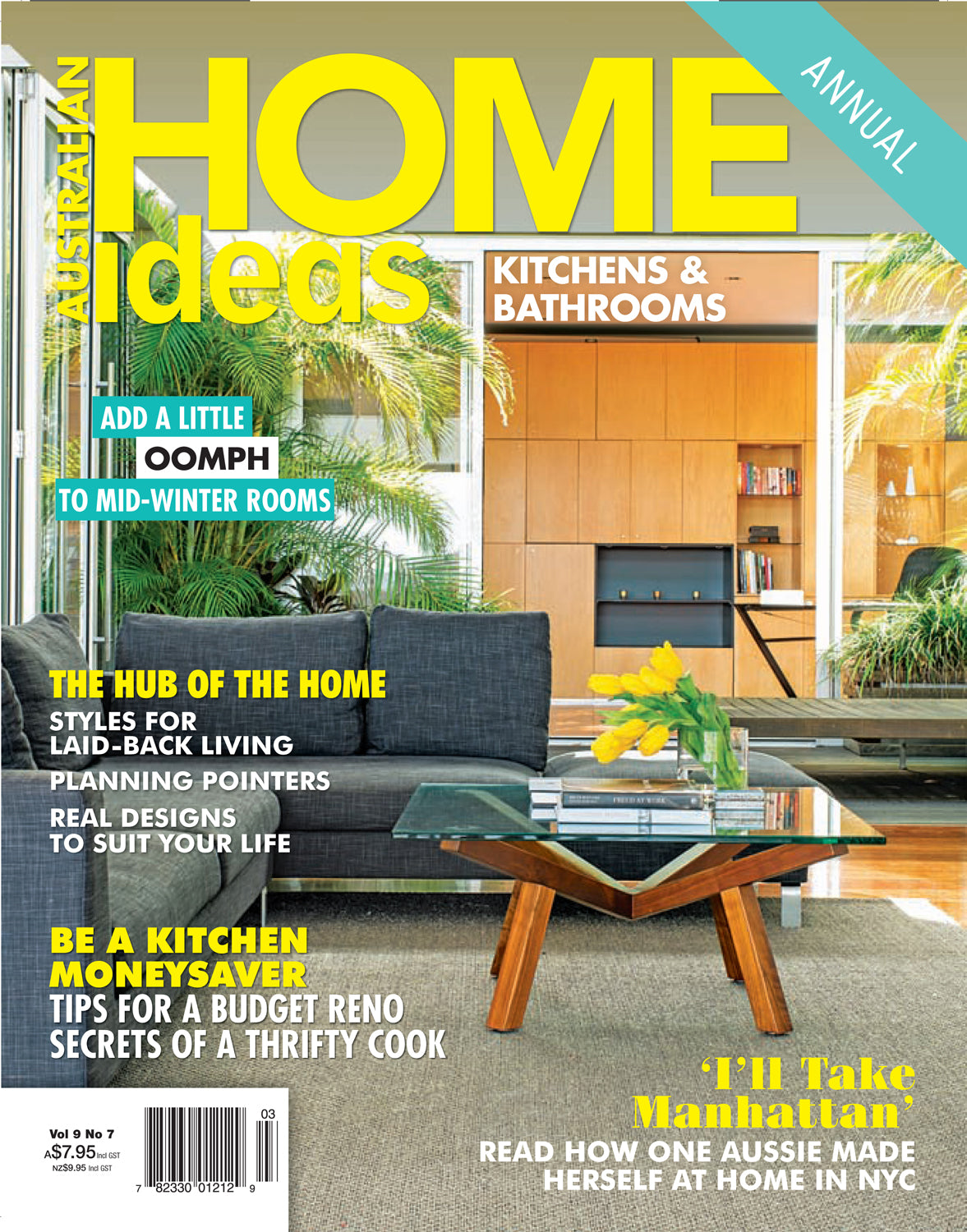 Home Ideas Magazine Cover