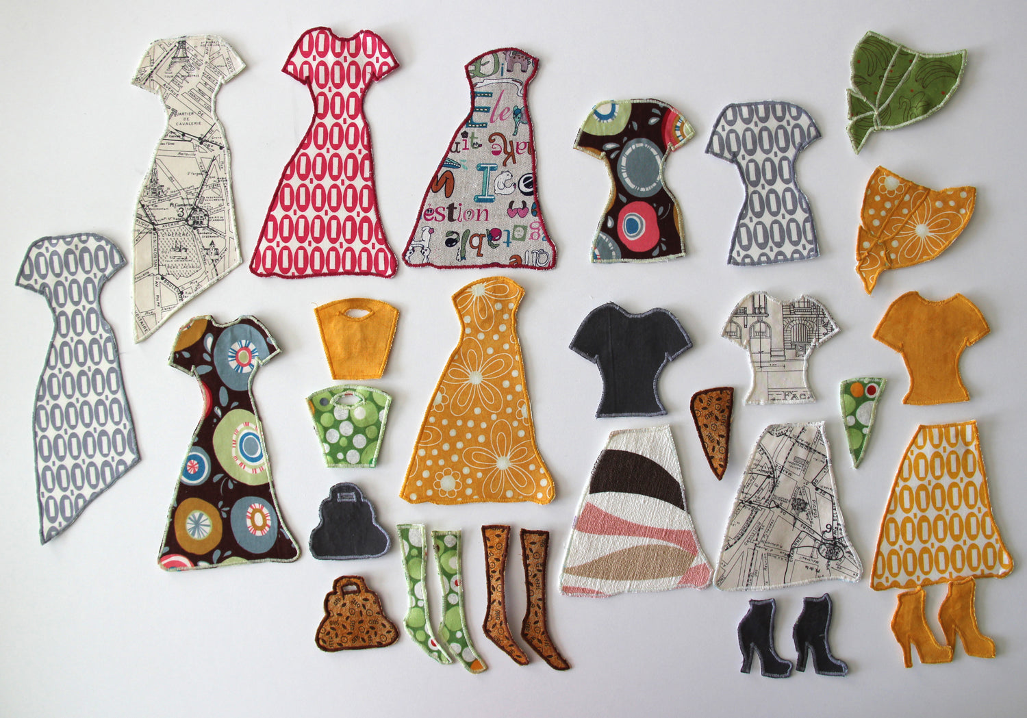 Clothing for Paper Doll