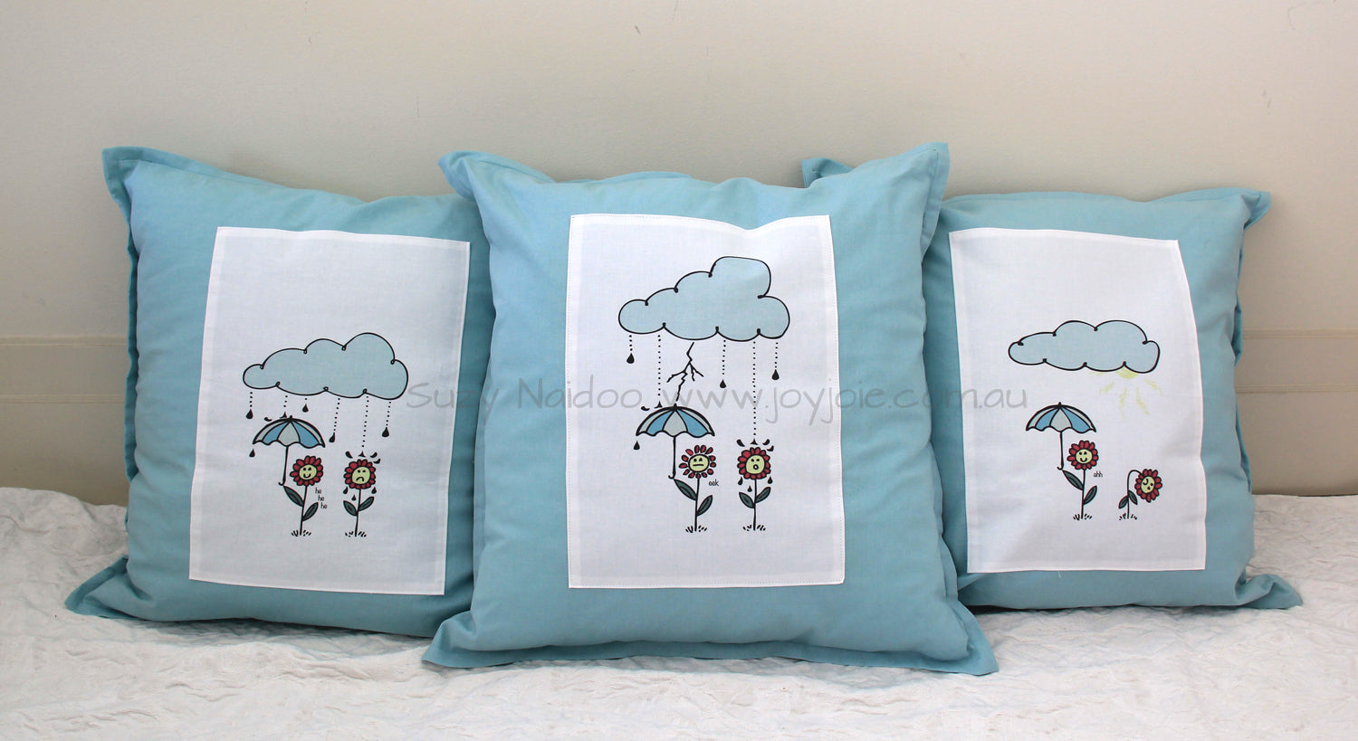 Cloudy Day Cushions