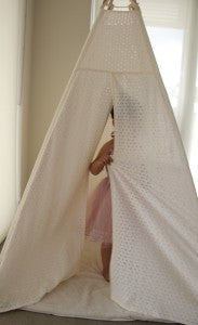 Child Play in Lace Teepee