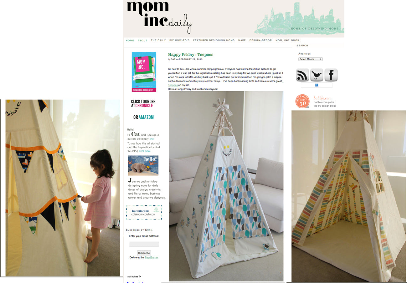 Mom Inc Daily Teepee Feature