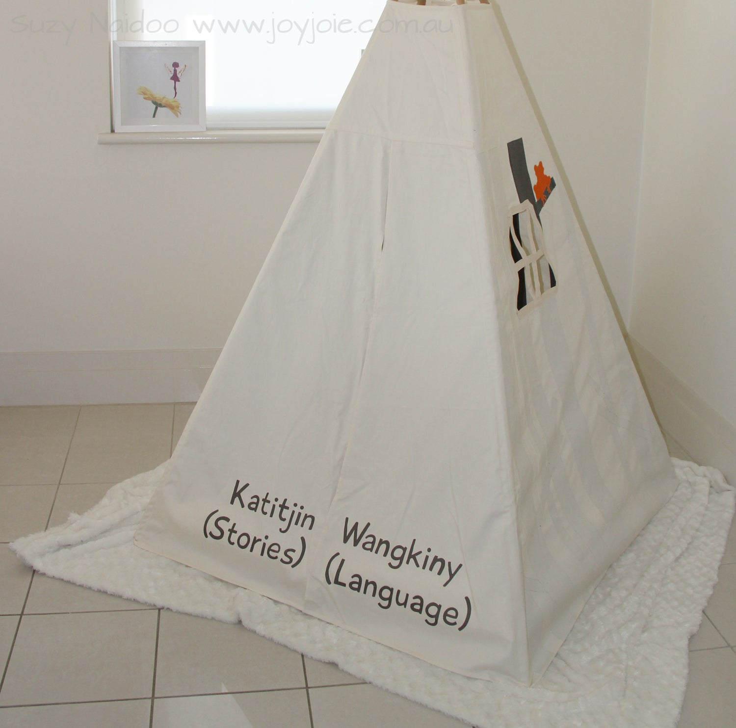 Secret Ranges Teepee with Text
