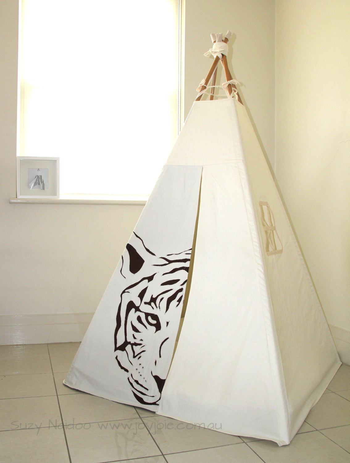 Tiger Face teepee