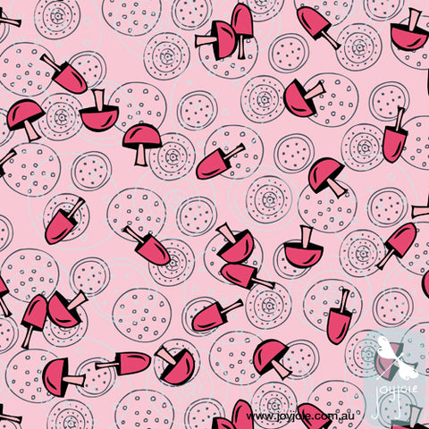 Toadstool surface pattern repeat design