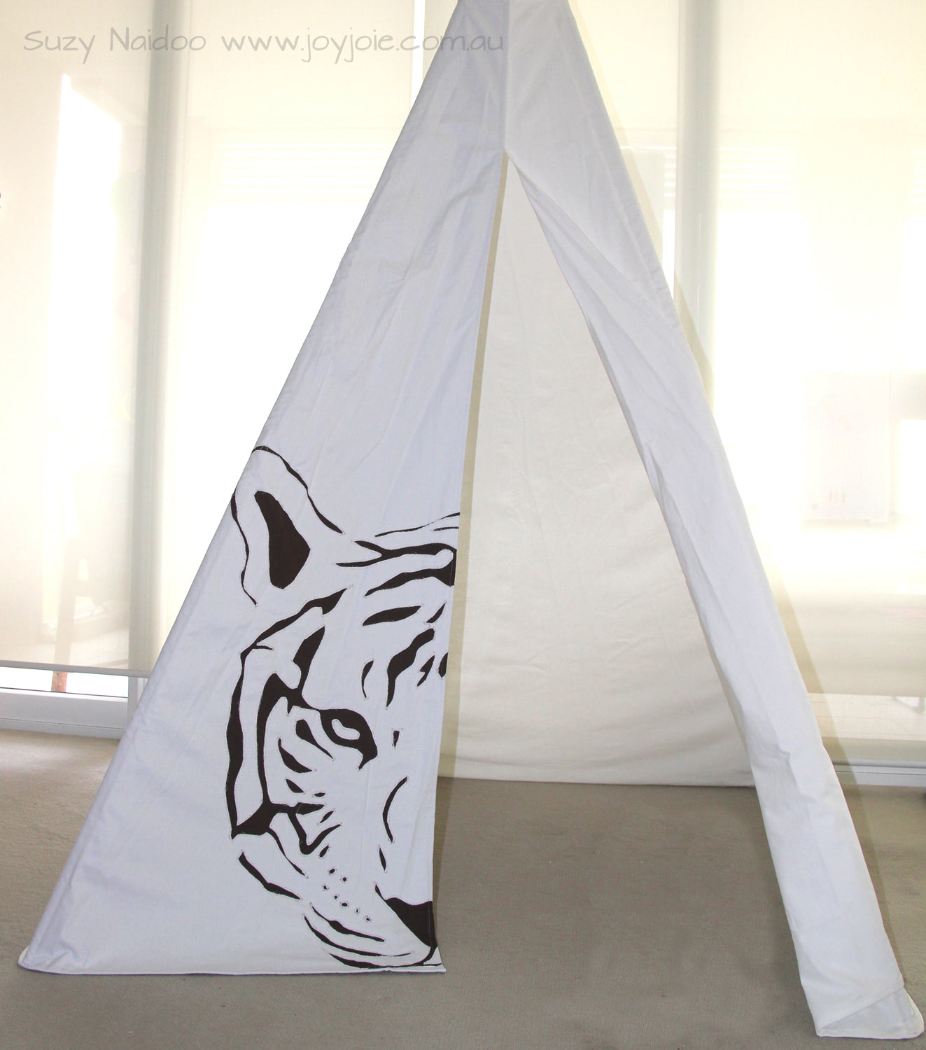 Family Tiger Teepee