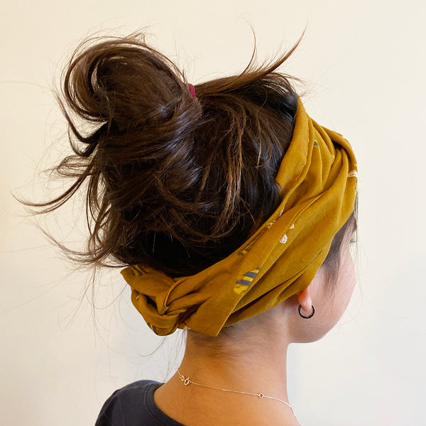 Bumble print Head Wrap | Fabric Wire Headwrap