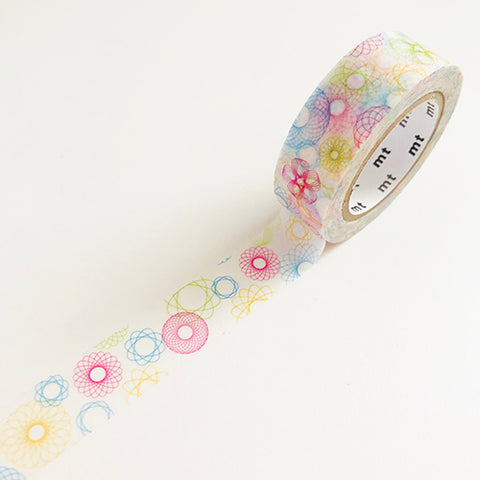 Spirograph Washi Tape by MT