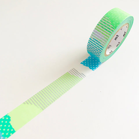 Blue-Green Washi Tape