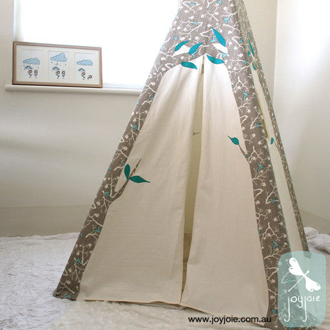 Trees Tepee – Hummingbirds - joyjoie