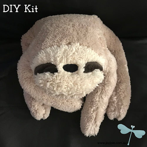 Sloth soft toy making Kit
