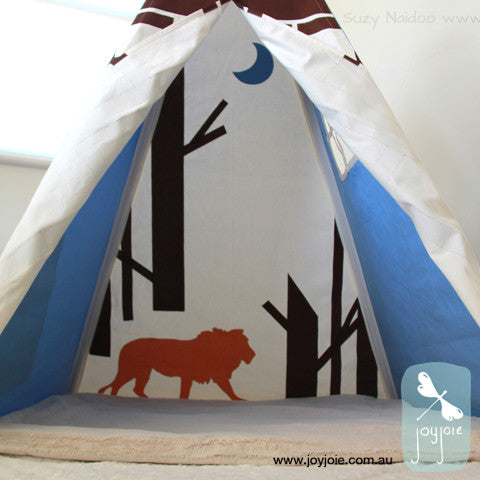 Narnia inspired teepee – Custom order with Monogram - joyjoie
