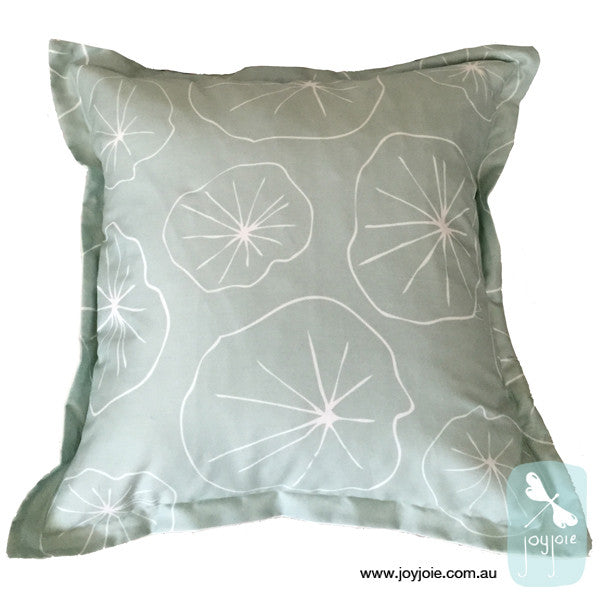Lotus Leaf Cushion Cover (ex. insert) - joyjoie