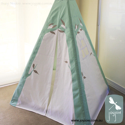 Tree Teepee in Mint - joyjoie