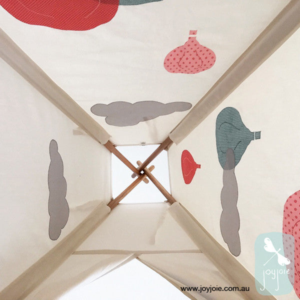 Hot Air Balloon Teepee in Pastels - joyjoie