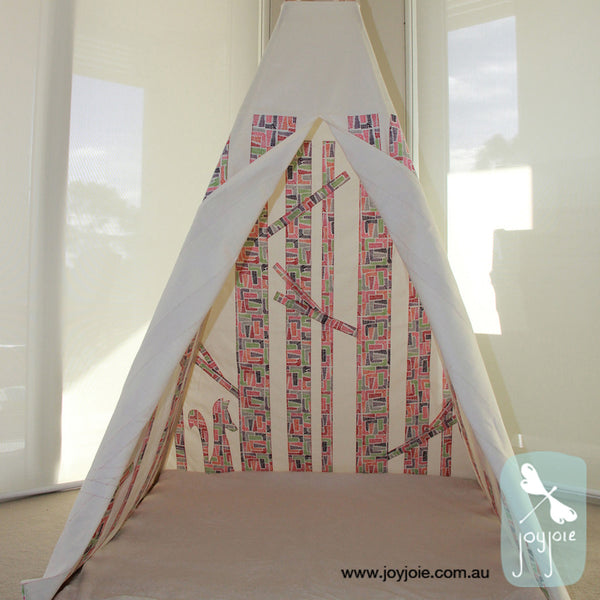 Secret Woodland Teepee – Patience - joyjoie