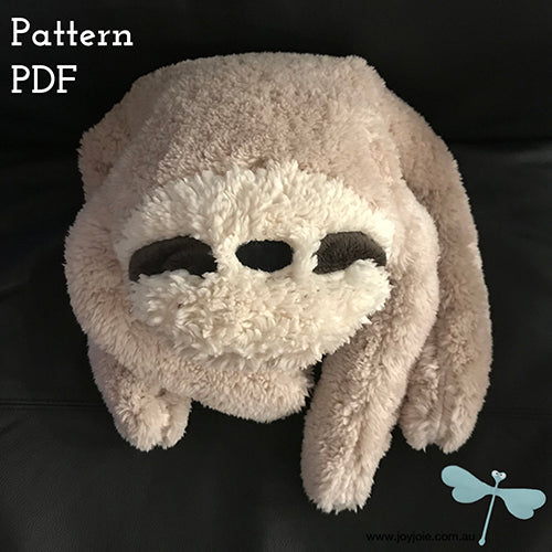 Spinach Sloth PDF pattern