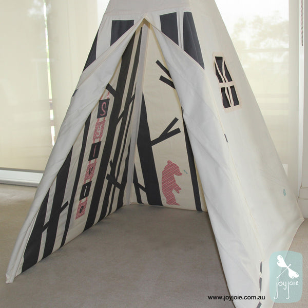 Personalised Secret Greenwood tepee - joyjoie