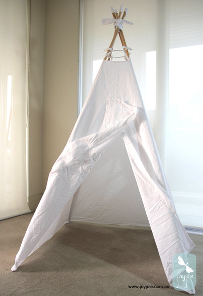 Whimsical White teepee in regular size