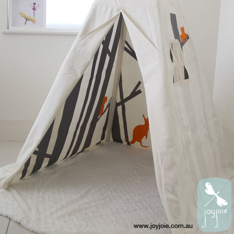Secret Ranges Teepee in Graphite (ex. poles) - joyjoie
