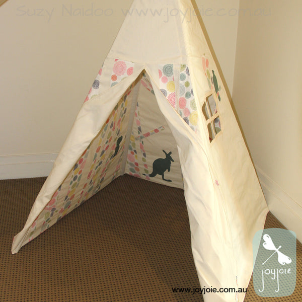 Pastels Secret Ranges Teepee - joyjoie