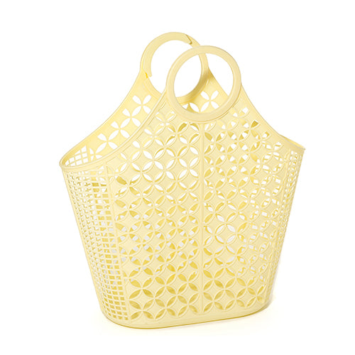 Yellow Atomic Tote Jelly Bag