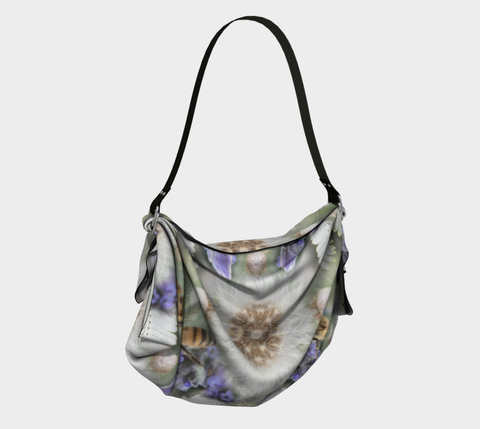 Mystic Garden Origami Tote in natural