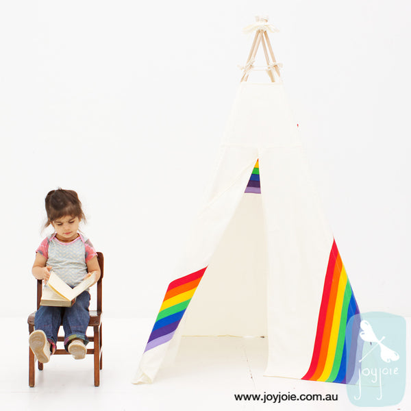Secret Rainbow Teepee (ex. poles) - joyjoie