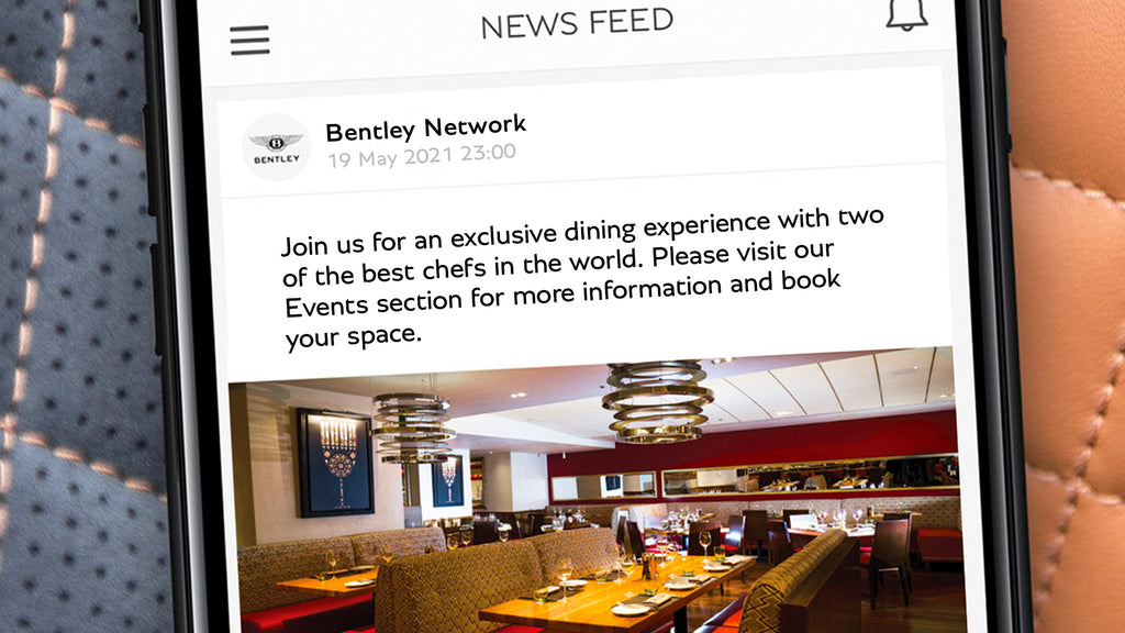 News from Bentley Kuala Lumpur | The Bentley Network App is now available to download in Malaysia