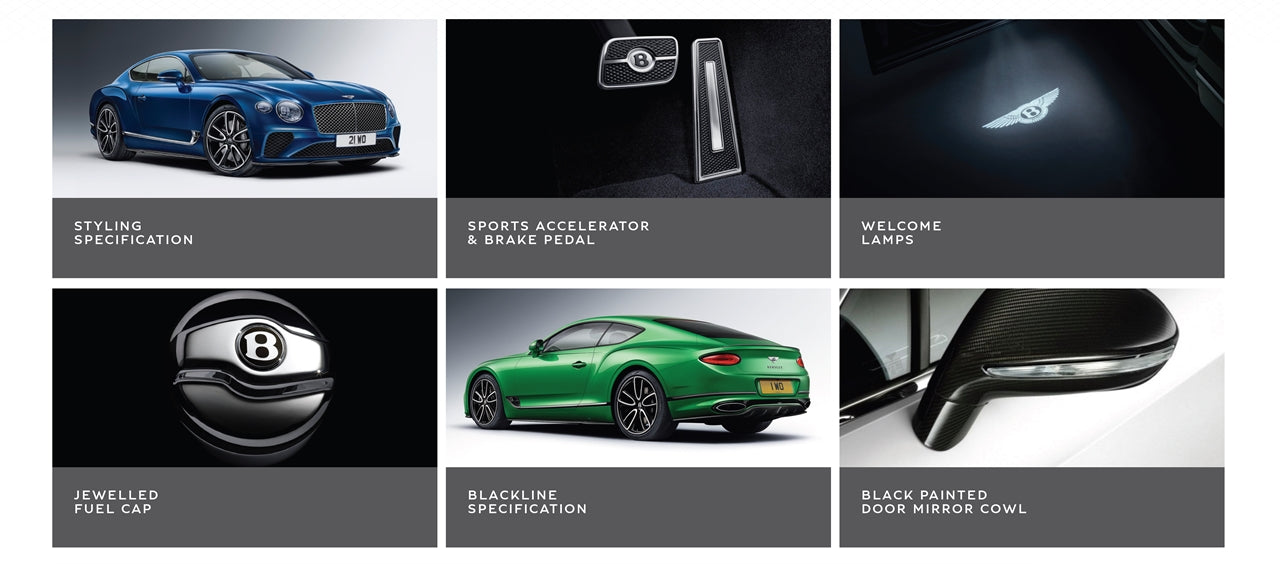 New Continental GT Sports Pack Plus Accessories at Bentley Kuala Lumpur