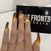 FLAMIN' HOT - Press On Nails Press On Nails Lace Fronts