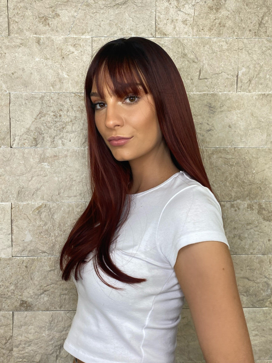 ICONIC RED Lace front wig Lace Fronts