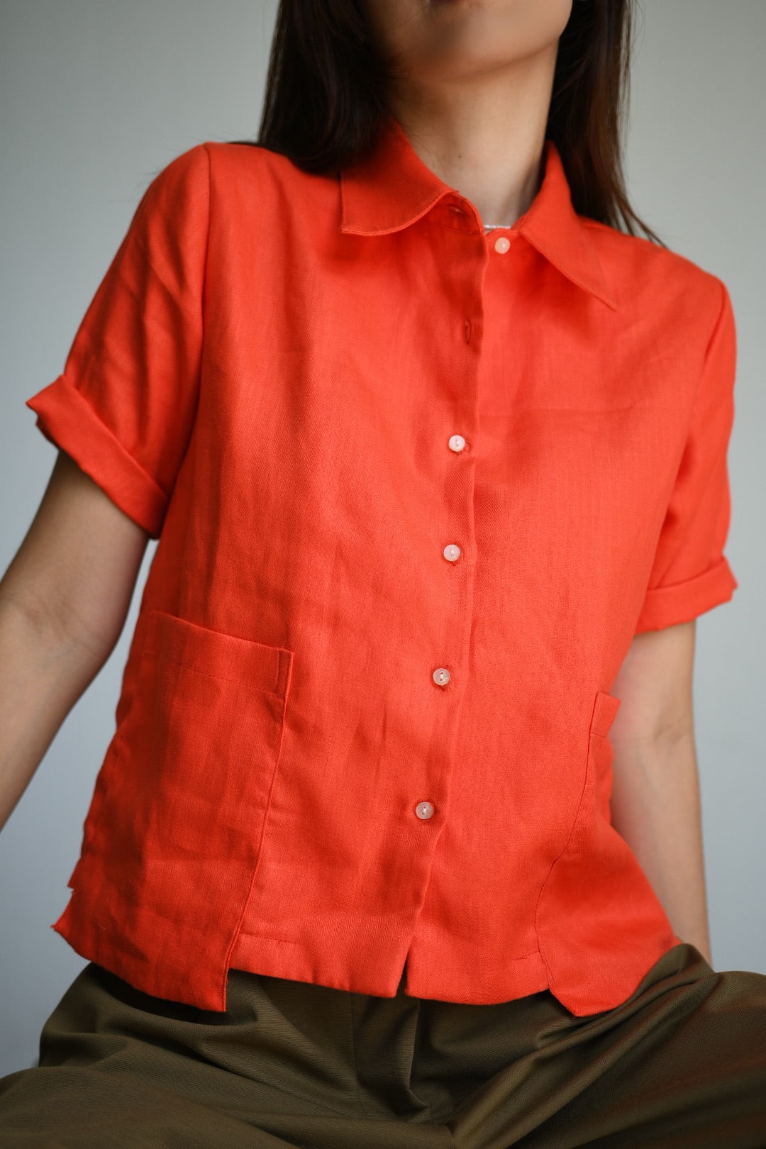 Paloma Linen Button Down