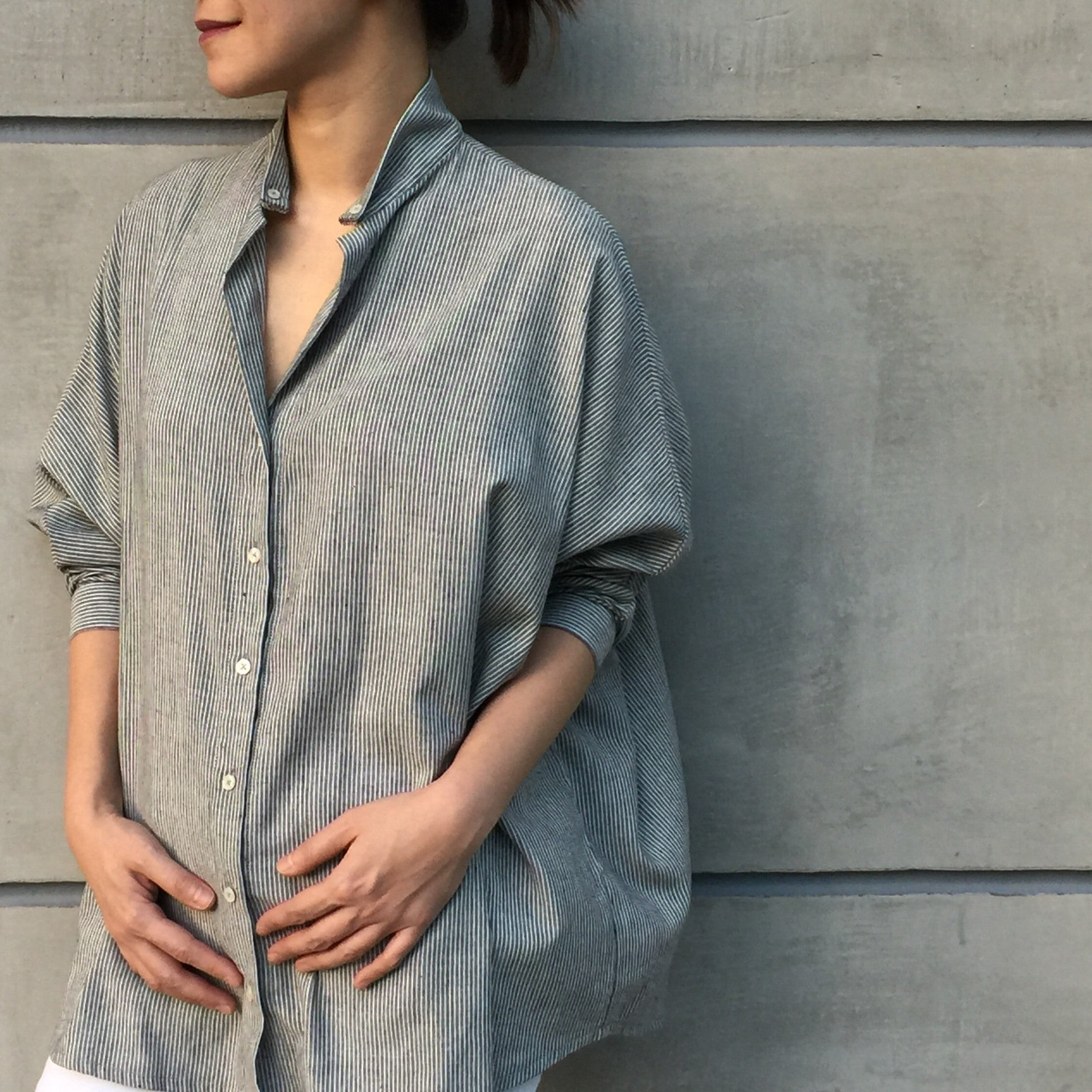 Melissa Oversized Button Down