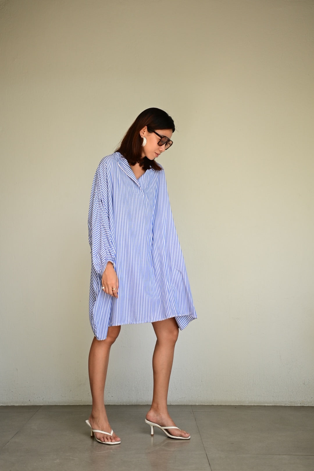 Kasbah Oversized Top and Culottes in Soft Cotton
