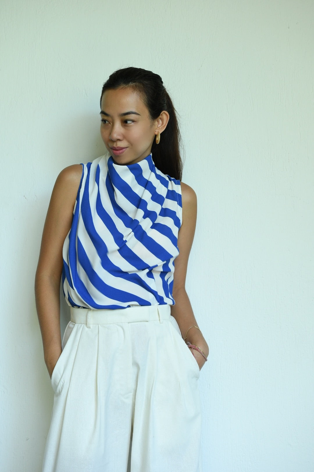 Estelle Stripes Sleeveless